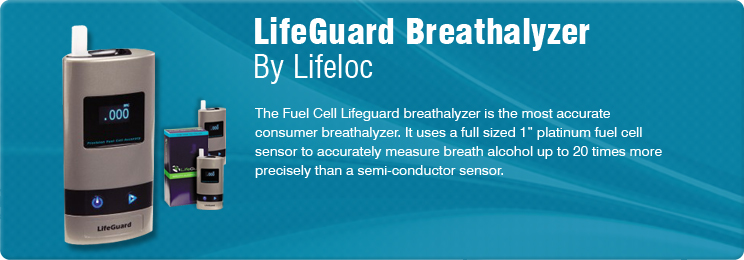 Lifeloc Lifeguard (DOT Approved) Alcohol Fuel Cell Breathalyzer